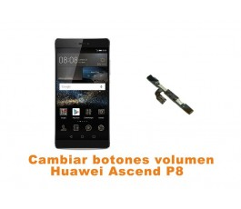 Cambiar botones volumen Huawei Ascend P8