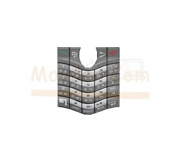 Teclado Gris para Blackberry 8100 8110 8120 8130 - Imagen 1