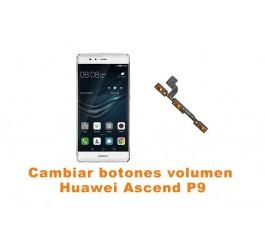 Cambiar botones volumen Huawei Ascend P9