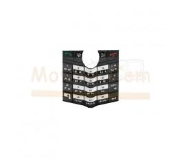 Teclado Negro para Blackberry 8100 8110 8120 8130 - Imagen 1