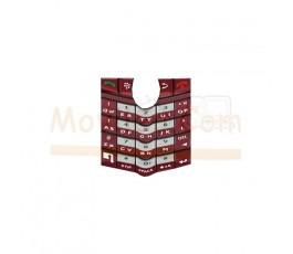 Teclado Rojo para Blackberry 8100 8110 8120 8130 - Imagen 1