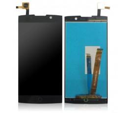 Pantalla completa táctil y lcd para Alcatel Flash 2 OT-7049 negro
