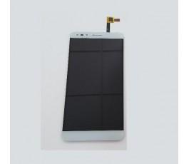 Pantalla completa táctil y lcd para Alcatel Pop 4 (6) OT-7070 blanca