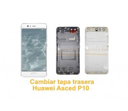 Cambiar tapa trasera Huawei Ascend P10