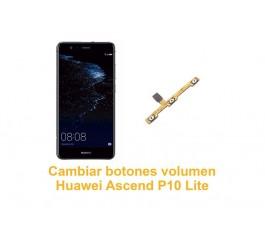 Cambiar botones volumen Huawei Ascend P10 Lite