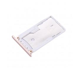 Porta tarjeta sim y microSD para Xiaomi Redmi Pro dorado