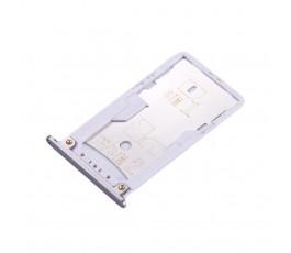 Porta tarjeta sim y microSD para Xiaomi Redmi Pro gris