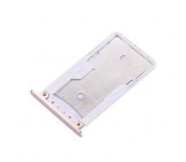 Porta tarjeta sim y microSD para Xiaomi Redmi Note 4 dorado