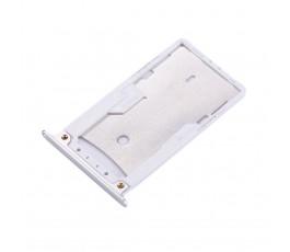 Porta tarjeta sim y microSD para Xiaomi Redmi Note 4 plata