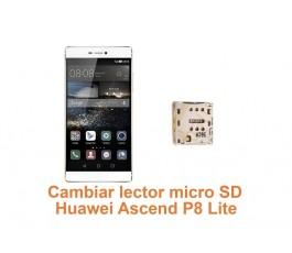Cambiar lector micro SD Huawei Ascend P8 Lite
