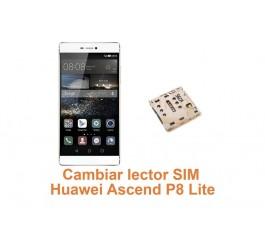 Cambiar lector SIM Huawei Ascend P8 Lite