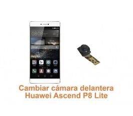 Cambiar cámara delantera Huawei Ascend P8 Lite