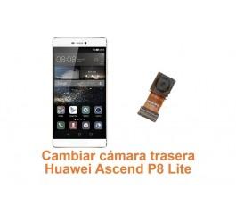 Cambiar cámara trasera Huawei Ascend P8 Lite