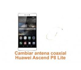 Cambiar antena coaxial Huawei Ascend P8 Lite