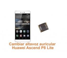 Cambiar altavoz auricular Huawei Ascend P8 Lite