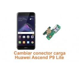 Cambiar conector carga Huawei Ascend P9 Lite