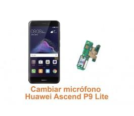 Cambiar micrófono Huawei Ascend P9 Lite