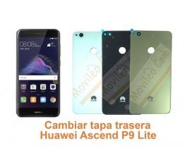 Cambiar tapa trasera Huawei Ascend P9 Lite