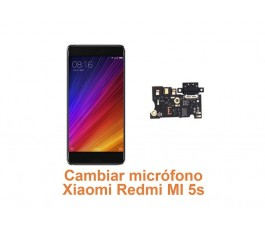 Cambiar micrófono Xiaomi Redmi MI 5s