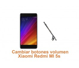 Cambiar botones volumen Xiaomi Redmi MI 5s