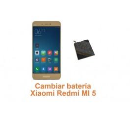 Cambiar batería Xiaomi Redmi MI 5