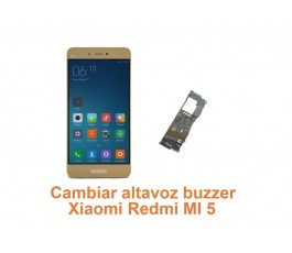 Cambiar altavoz buzzer Xiaomi Redmi MI 5
