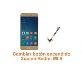 Cambiar botón encendido Xiaomi Redmi MI 5