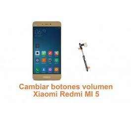 Cambiar botones volumen Xiaomi Redmi MI 5