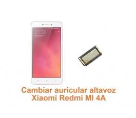 Cambiar auricular altavoz Xiaomi Redmi MI 4A