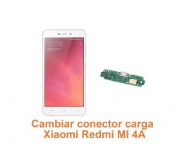 Cambiar conector carga Xiaomi Redmi MI 4A