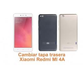 Cambiar tapa trasera Xiaomi Redmi MI 4A