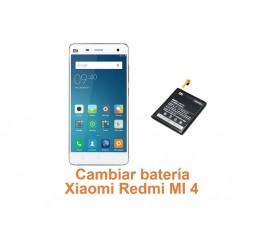 Cambiar batería Xiaomi Redmi MI 4