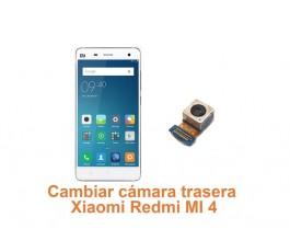 Cambiar cámara trasera Xiaomi Redmi MI 4