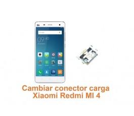 Cambiar conector carga Xiaomi Redmi MI 4