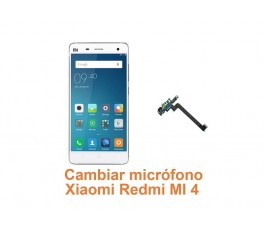 Cambiar micrófono Xiaomi Redmi MI 4