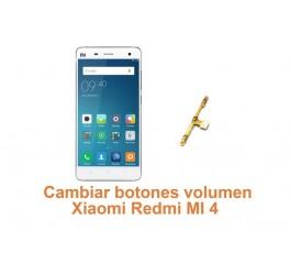 Cambiar botones volumen Xiaomi Redmi MI 4