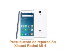 Presupuesto de reparación Xiaomi Redmi MI 4