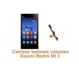 Cambiar botones volumen Xiaomi Redmi MI 3