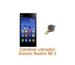 Cambiar vibrador Xiaomi Redmi MI 3