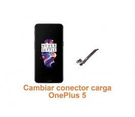 Cambiar conector carga OnePlus 5