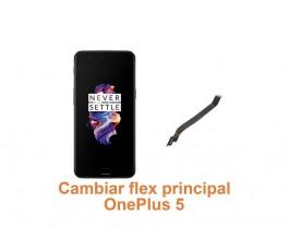 Cambiar flex principal OnePlus 5