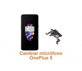 Cambiar micrófono OnePlus 5