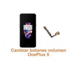 Cambiar botones volumen OnePlus 5