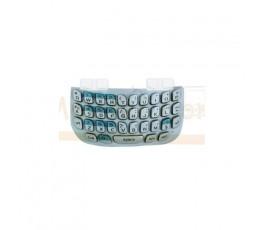 Teclado Azul Clarito para BlackBerry Curve 8520 - Imagen 1