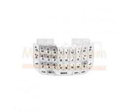 Teclado Blanco para BlackBerry Curve 8520 - Imagen 1