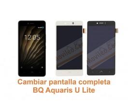 Cambiar pantalla completa BQ Aquaris U Lite