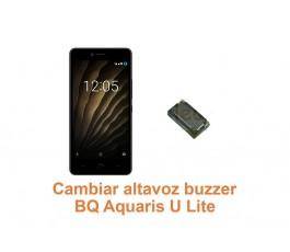 Cambiar altavoz buzzer BQ Aquaris U Lite