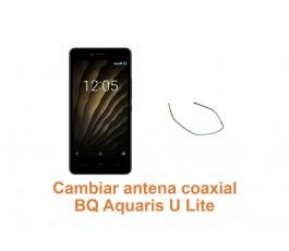 Cambiar antena coaxial BQ Aquaris U Lite