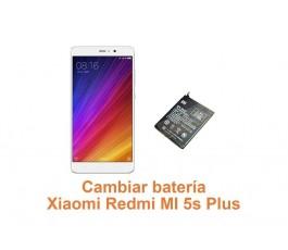 Cambiar batería Xiaomi Redmi MI 5s Plus