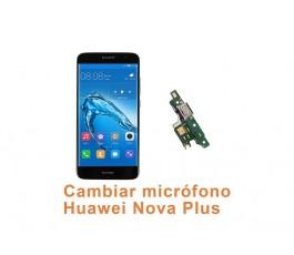 Cambiar micrófono Huawei Nova Plus